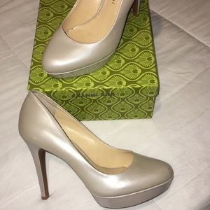 Heels, worn once, excellent condition